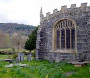 gammal churchyard fotografering för bildbyråer