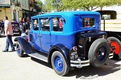 Gammal Citroen bil från 20-tal Fotografering för Bildbyråer
