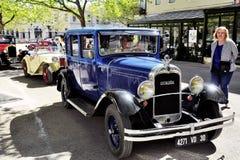 Gammal Citroen bil från 20-tal Royaltyfri Fotografi