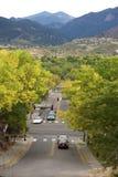 Gammal Colorado stad Fotografering för Bildbyråer