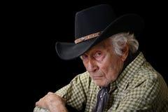 Gammal cowboy Arkivfoton