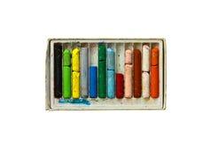 gammal crayon Royaltyfri Foto