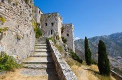 gammal croatia fort Arkivfoton