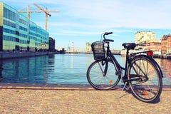 gammal cykel arkivfoton