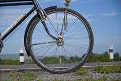 Gammal cykel, gammal cykel i Thailand Arkivfoto