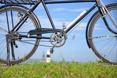 Gammal cykel, gammal cykel i Thailand Royaltyfri Foto