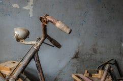 gammal cykeldetalj Arkivbild