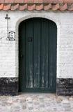 gammal dörröppning Arkivfoton
