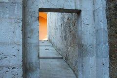 Gammal dörröppningsdet fria arkivfoton