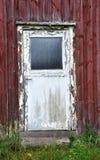gammal dörr Arkivbild