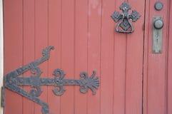 gammal dörr Royaltyfri Fotografi