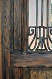 gammal dörr Arkivfoton