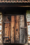 gammal dörr Fotografering för Bildbyråer