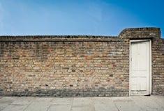 gammal dörr 03 Arkivfoto