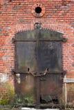 gammal dörr Royaltyfria Bilder