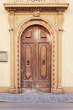 Gammal dörr i Florence fotografering för bildbyråer