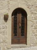 Gammal dörr i ingen Tuscany 2 Royaltyfri Fotografi