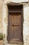 gammal dörr mycket Fotografering för Bildbyråer