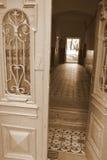 gammal dörrdragning Arkivbild