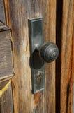 gammal dörrhandtag fotografering för bildbyråer