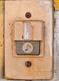 Gammal dörrklocka Fotografering för Bildbyråer