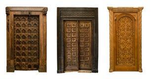 Gammal dörruppsättning 11 Arkivbilder