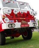 Gammal Dakar lastbil Royaltyfri Foto