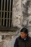 Gammal dam i Kina Royaltyfria Foton