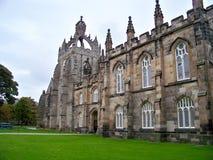 Gammal del av staden Aberdeen Arkivfoto