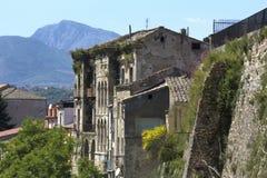 Gammal del av staden av Benevento, Campania, Italien Royaltyfri Foto