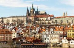 Gammal del av staden av Prague Royaltyfria Bilder