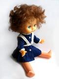 gammal docka Arkivbild