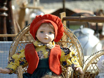 gammal docka Fotografering för Bildbyråer