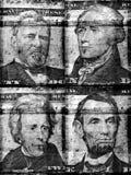 gammal dollar oss Arkivbilder