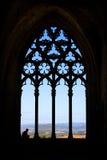 Gammal domkyrka av Lleida som är bekant som `-Seu Vella `, Arkivbild