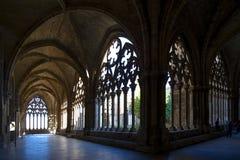 Gammal domkyrka av Lleida som är bekant som `-Seu Vella `, Fotografering för Bildbyråer