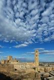 Gammal domkyrka av Lleida som är bekant som `-Seu Vella `, Royaltyfria Bilder