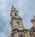 Gammal domkyrka av Rio de Janeiro - kyrka av vår dam av Mount Carmel av den forntida Sen - Rio de Janeiro, Brasilien royaltyfria foton