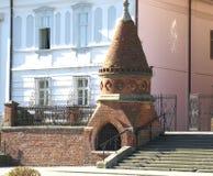 Gammal domkyrka av St Peter i Djakovo, Kroatien Royaltyfria Foton