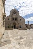Gammal domkyrka i Bitonto Italien Royaltyfri Bild