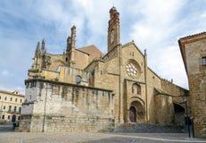 Gammal domkyrka Santa Maria de Plasencia Spain Royaltyfri Bild