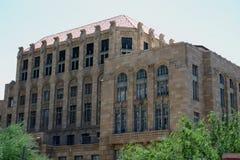 gammal domstolsbyggnad arkivbild