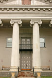 Gammal domstolsbyggnad Royaltyfria Bilder