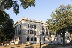 Gammal domstolsbyggnad i Pekin, Tazewell County Royaltyfri Foto
