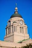 Gammal domstolsbyggnad i South Bend Arkivbilder