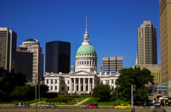 Gammal domstolsbyggnad, St Louis, MO Royaltyfri Fotografi