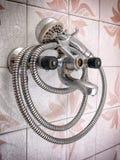 Gammal dusch Arkivfoton