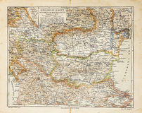 gammal Eastern Europe översikt Arkivbilder