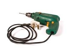 Gammal elektrisk drillborr Royaltyfri Bild