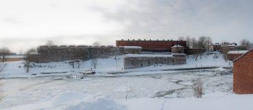 Gammal fästning Royaltyfri Fotografi